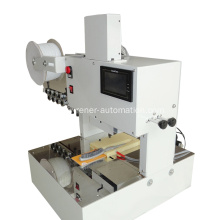 Cardboard wire bundling machine