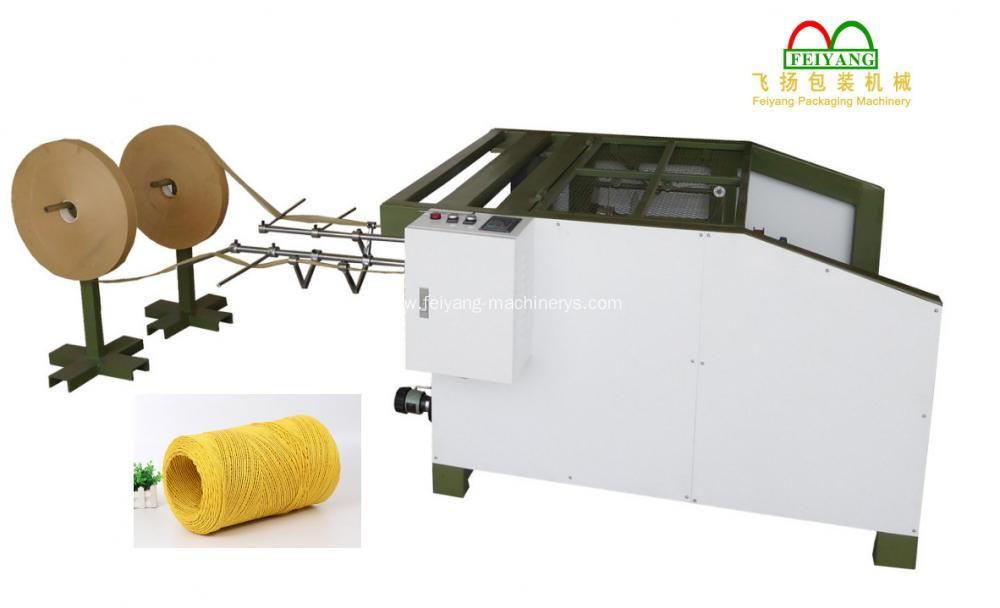 Round Paper Rope Making Machine
