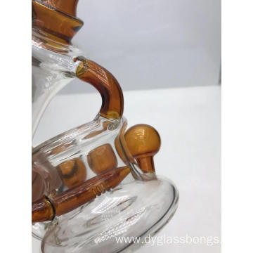 Mini customized distinctive style water cycling glass bongs
