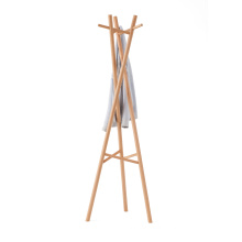 FAS Beech Wooden Coat Stands Cloth  Racks