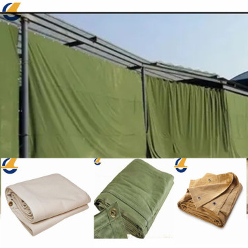 Enviromental color cotton canvas tarpaulins