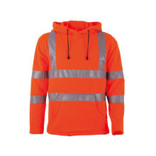 Jaket Musim Dingin Hi Vis Custom Mens Hooded