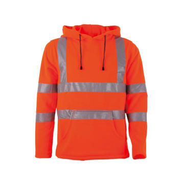 Custom Mens Hooded Winter Hi Vis Jacket