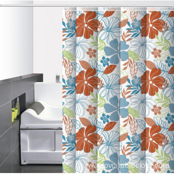 Waterproof Bathroom printed Shower Curtain Marshalls