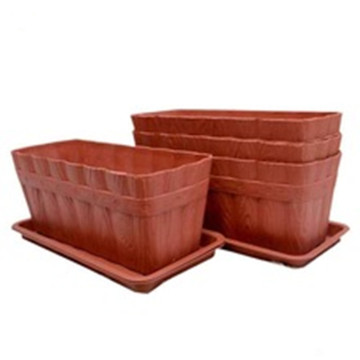 Plastic Flower pot Planter for Garden Decoration