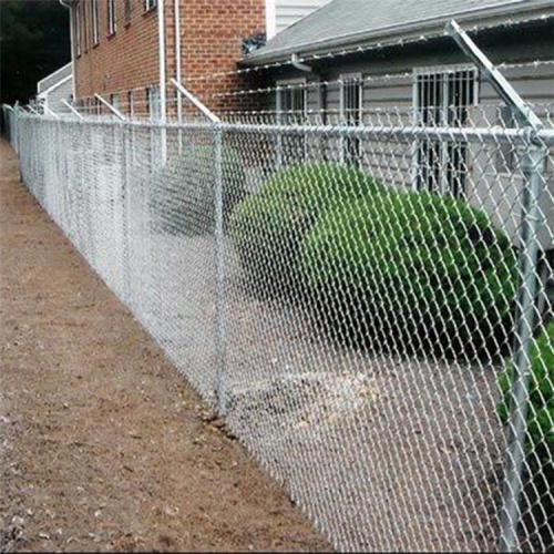 galvanized and PVC coated  chain link fences