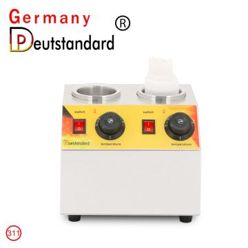 Two bottle head machine sauce warmer machine
