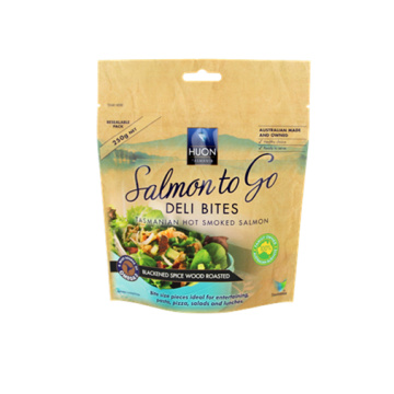 Salmon Fish Paper Bag Packaging