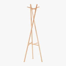 Portable Wooden Cloth Coat Rack