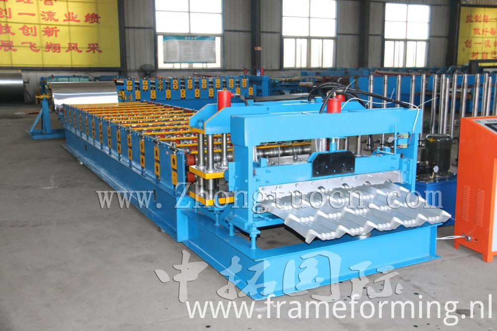 Steel Roof Machine Price