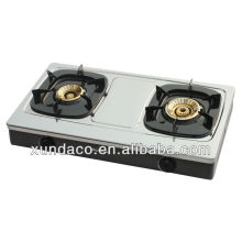 2 Super Fire Burner Cooking Table Gas Cooker