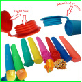 New Silicone Ice Cream Pop Maker with Lid