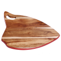 Fish wood cutting board