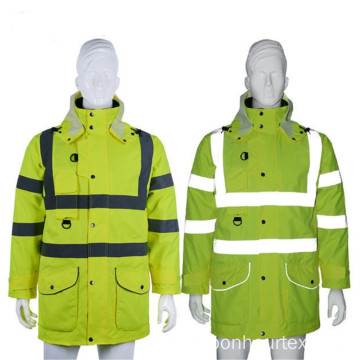 High Visibility Polyester with PU Coating Fabric
