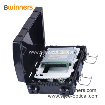 Outdoor Waterpoof Fttx Splitter Fiber Distribution Closure 24 Core