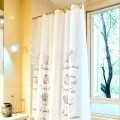 Shower Curtain PEVA Coffee Tasty