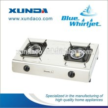 Double Stove Stainless Steel Body