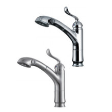 XHHL home single handle pull down kitchen faucet