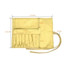 Custom Logo Professional Detachable Lightweight Cheap Cosmetic Brush Organizer Bag