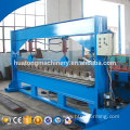High precision metal sheet plate rolling machine with profile bending