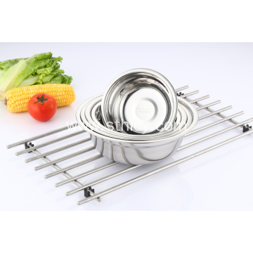 Stainless Steel Polished Round Soup Basin