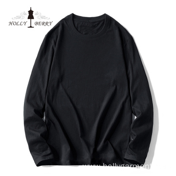 Basic Model O-neck Soft Basic Model Black Man Fleeces Men's Hoodies