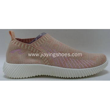 breathable flyknit women casual shoes fashion sneakers