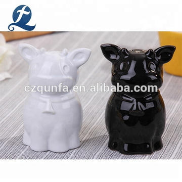 Wholesale Kitchen Custom Small Spice Container Ceramic Salt And Pepper Shakers