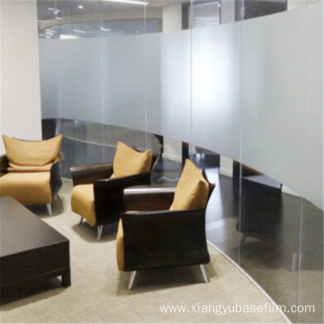 Anti-static Anti-collision Frosted Office Glass Solar Film