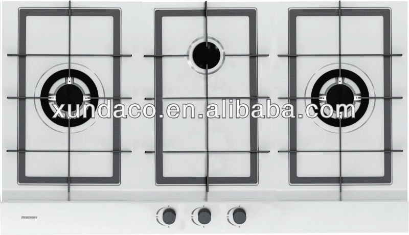 Built-in 3 Burners Gas Hob Stoves