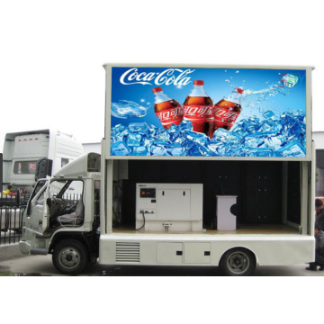 Outdoor Truck Mobile LED Screen For Advertising