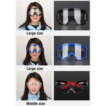 Hospital safety glasses medical surgical goggles factory