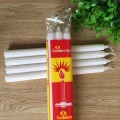 Custom Size Paraffin Wax Fluted Pillar Candle Household