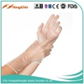pvc clear disposable single use only vinyl gloves