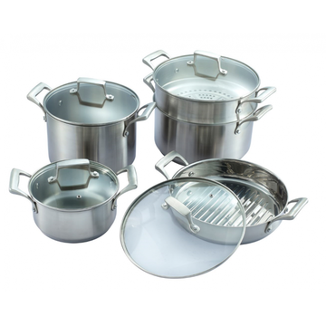 Precision casting pot set