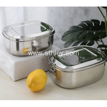304 Stainless Steel Food Storage Containers