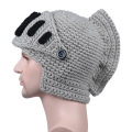Roman knight knitted hat gladiator mask hat