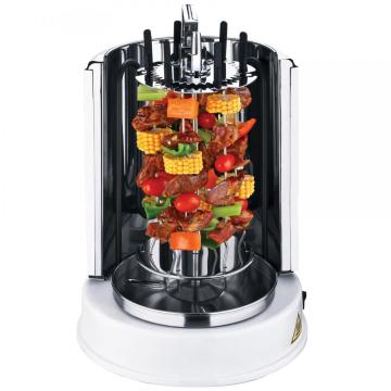 Electric Vertical BBQ Gril with twisted skewersl