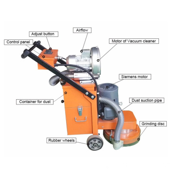 Concrete Floor Grinding Polishing Machine