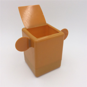 desktop garbage can plastic box organizer
