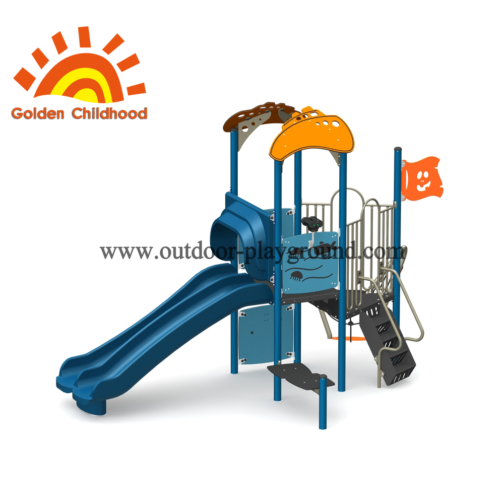 Ocean Style Outdoor Playground Equipment For Children