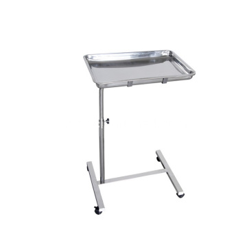 Stainless Steel  Square Tray  Support  Table  Use In Hospital