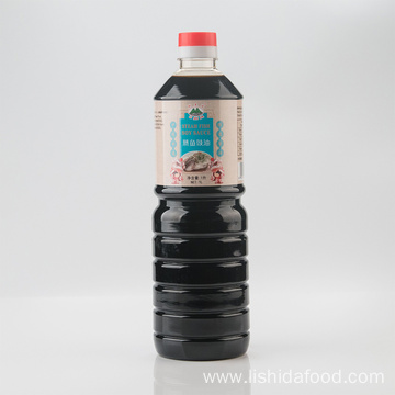 1000ml Glass Bottle Steamed Fish Soy Sauce