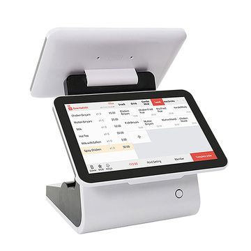 Original factory pos machine dual screen