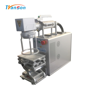 Portable Handhold Metal Fiber Laser Marking Machine 20W