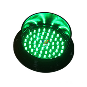 red 125mm LED traffic module mini traffic light