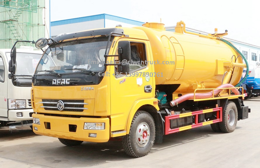 Waste Suction Truck