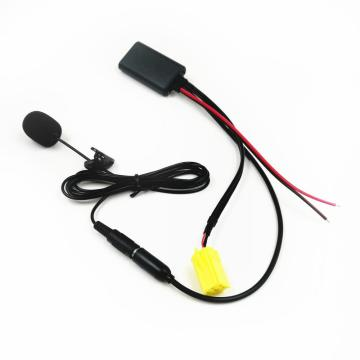 For Fiat Grande Punto Alfa 159 Bluetooth 5.0 AUX-IN Cable Adapter for Alfa Romeo Audio Input Phone Calling Handsfree Microphone