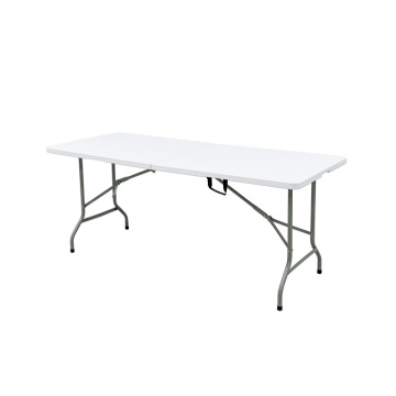 outdoor party using folding table