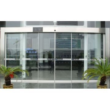 Aluminium glass slide hotel entrance automatic door